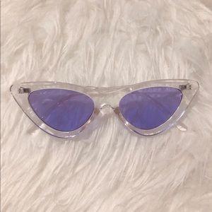 Accessories - Retro vintage cat eye sunglasses